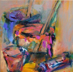 Peinture et Hypnose by Martignac